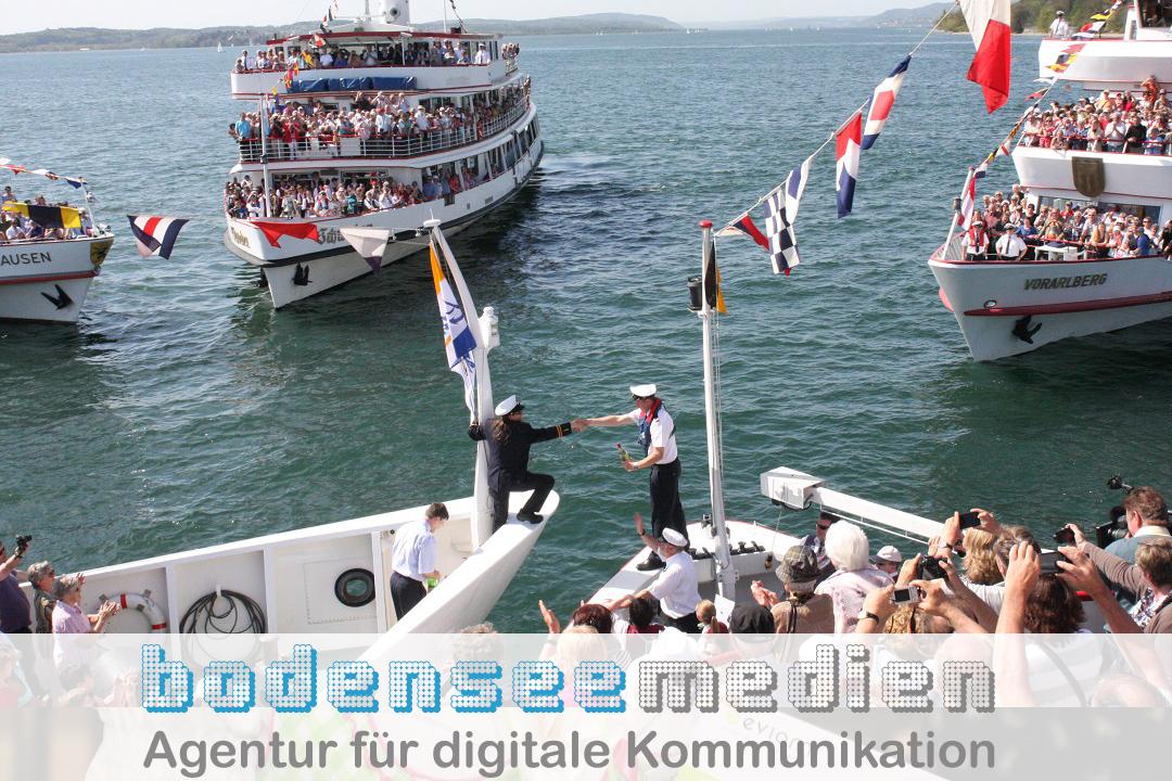 Flottensternfahrt - Frohe Ostern - Frohes Osterfest wünscht BODENSEE MEDIEN